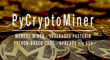 PyCryptoMiner- Python Crypto Miner Botnet Spreads via Exposed SSH Ports - Cyber security news