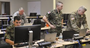 Ohio National Guard works with Serbian partners during Cyber Tesla 2017 exercise