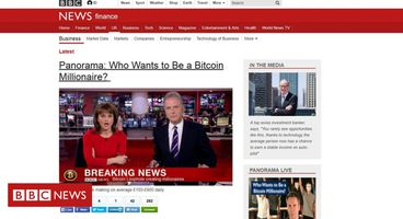 Fake BBC News page used to promote Bitcoin-themed scheme - Cyber security news