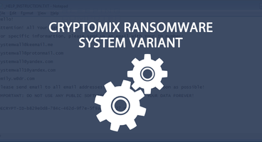 System Cryptomix Ransomware Variant Released - Cyber security news
