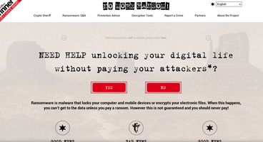 No More Ransom: a clearinghouse for removing ransomware without paying