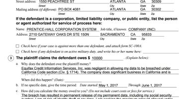 A startup wants to buy your grievance against Equifax for 30% of your court award