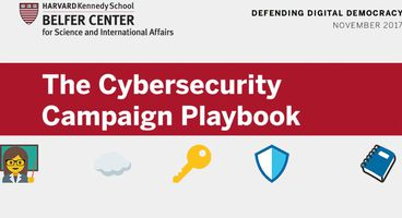 A cybersecurity playbook for political campaigns