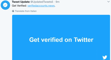 Twitter Keeps Allowing Hackers To Run Malicious Ads That Offer To Verify People On Twitter - Cyber security news