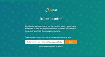 Aqua Security Launches Open-Source Kube-Hunter Container Security Tool - Cyber security news - Network Security Articles