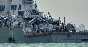 U.S. Navy Investigating If Destroyer Crash Was Caused by Cyberattack