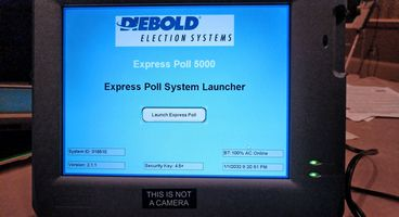 Personal Info of 650,000 Voters Discovered on Poll Machine Sold on Ebay