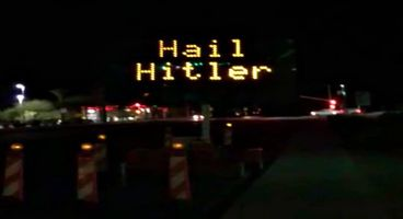 """Someone hacked this highway sign & defaced it with """"Hail Hitler"""" text - Cyber security news"""