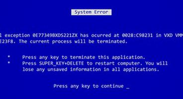 Tech Support Scam Malware Fakes the Blue Screen of Death - Cyber security news