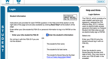 Name+DOB+SSN=FAFSA Data Gold Mine — Krebs on Security - Cyber security news