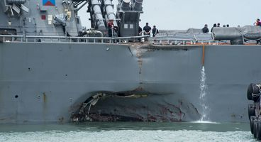 Was the floundering USS John S. McCain sabotaged by hackers?