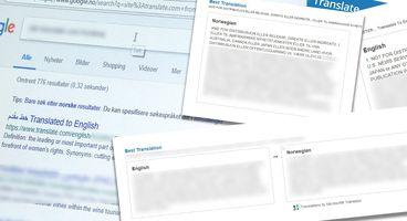 Sensitive information translated at Translate.com, a popular digital translation service, searchable via Google - Cyber security news