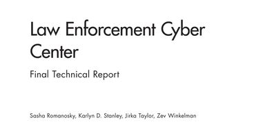 Law Enforcement Cyber Center - Cyber security news