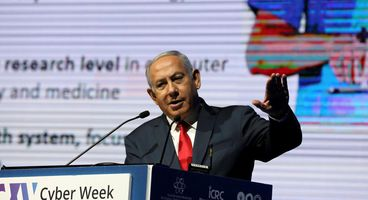 Israel's Netanyahu warns of cyber risks that can down fighter jets