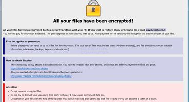 Experts discovered a new variant of Shadow BTCware Ransomware Variant - Cyber security news