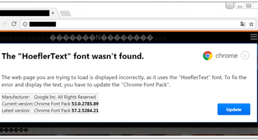 Experts spotted a malware campaign using HoeflerText Popups to push RAT Malware - Cyber security news