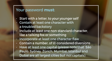 Still living under the tyranny of the password in 2017 - Cyber security news