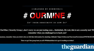 WikiLeaks 'hacked' as OurMine group answers 'hack us' challenge - Cyber security news