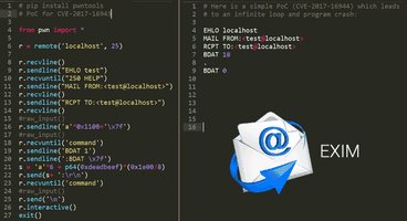 Exim Internet Mailer Found Vulnerable to RCE And DoS Bugs; Patch Now