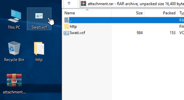Unpatched vCard Flaw Could Let Attackers Hack Your Windows PCs - Cyber security news