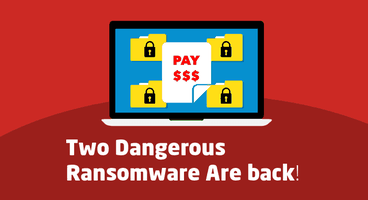 Warning: Two Dangerous Ransomware Are Back – Protect Your Computers - Cyber security news