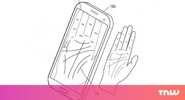 Samsung wants to hide your phone password in the palm of your hand