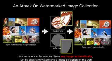 Google Researchers Found a Vulnerability and Wrote an Algorithm to Delete Watermarks from Photos