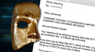 Spammed-out emails threaten websites with DDoS attack on September 30th