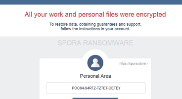 Ransomware 2.0: Spora now steals your credentials and logs what you type - Cyber security news