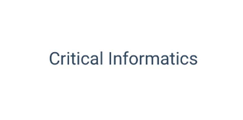 Critical Informatics