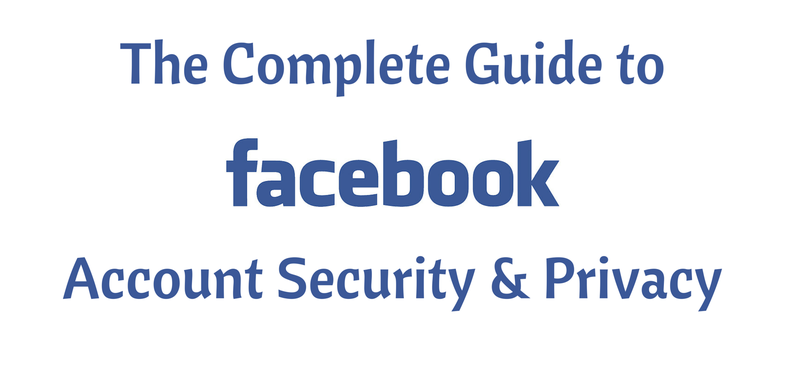 Facebook, Account Security