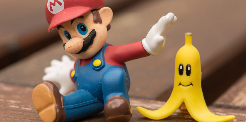This modified Super Mario image hides ransomware payload inside