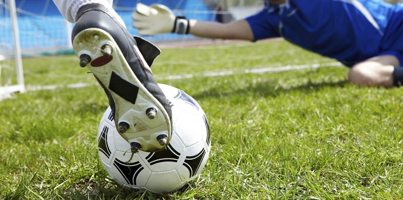 Soccer, Soccer Ball, Goal, Training Class, Ball, Playing, Activity, Motion, Shoe, Competition, Boot, Lifestyles, Sport, Horizontal, Outdoors, Human Body Part, Human Foot, Stadium, Winning, Hobbies, Athlete, Leisure Activity, Photography, 2015