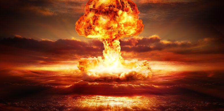 nuclear, bomb, atomic, clouds, mushroom, war, weapon, background, armageddon, power, terror, hydrogen, danger, ocean, nuke, fire, test, concept, destroy, sky, catastrophe, yellow, explosion, radioactive, wave, energy, detonation, extermination, red, apocalypse, fireball