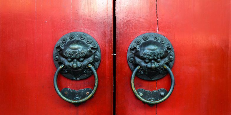 china, gate, travel, chinese, red, sign, singapore, entrance, door, security, building, asia, protection, wood, room, texture, architecture, temple, home, house, vintage, background, pattern, asian