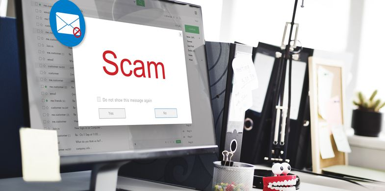 Scammers mimic SCA security check in an attempt to steal users' bank credentials and personal data
