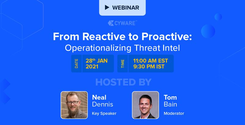 [Webinar] From Reactive to Proactive: Operationalizing Threat Intel